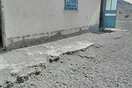 تعمیر مدرسه روستا کوه تنجیلان