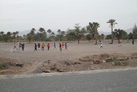 تهیه امکانات ورزشی برای نوجوانان روستایی