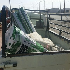 کمک به مرمت سقف منازل